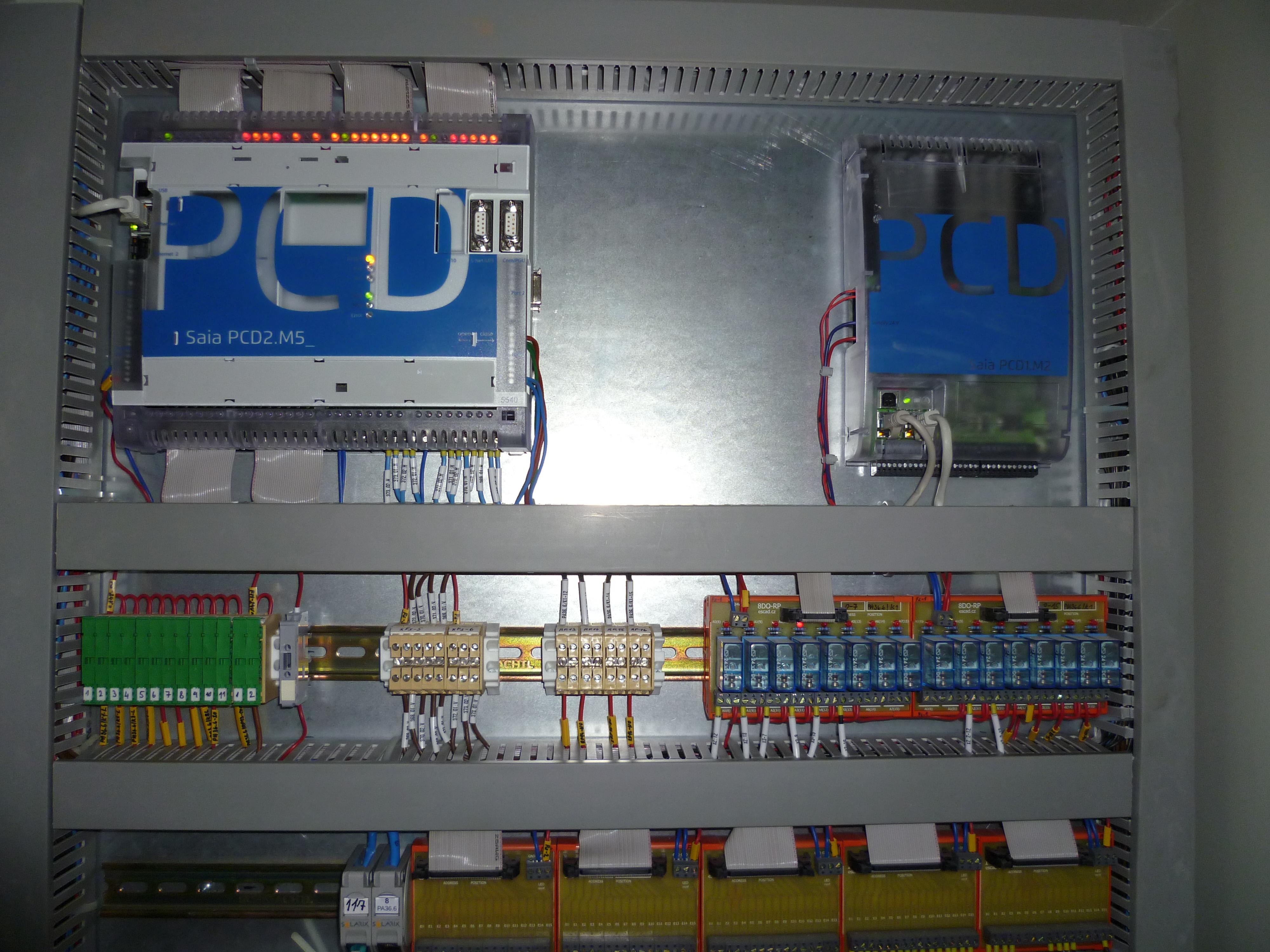 IKEM nová verze PCD2.M5540 namísto původní verze PCD2.M180